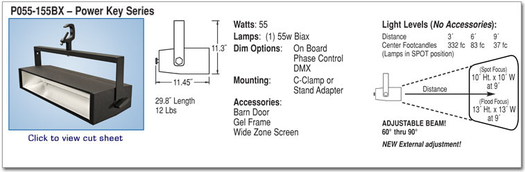 P055-155BX - Power Key Series