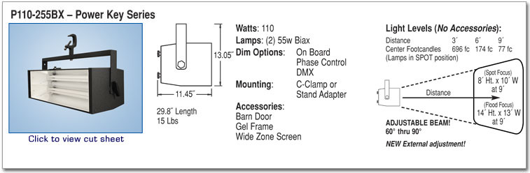 P110-255BX - Power Key Series