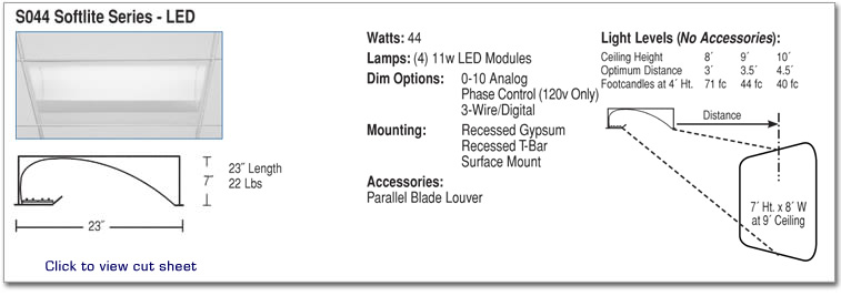 S044 - Softlite Series - LED